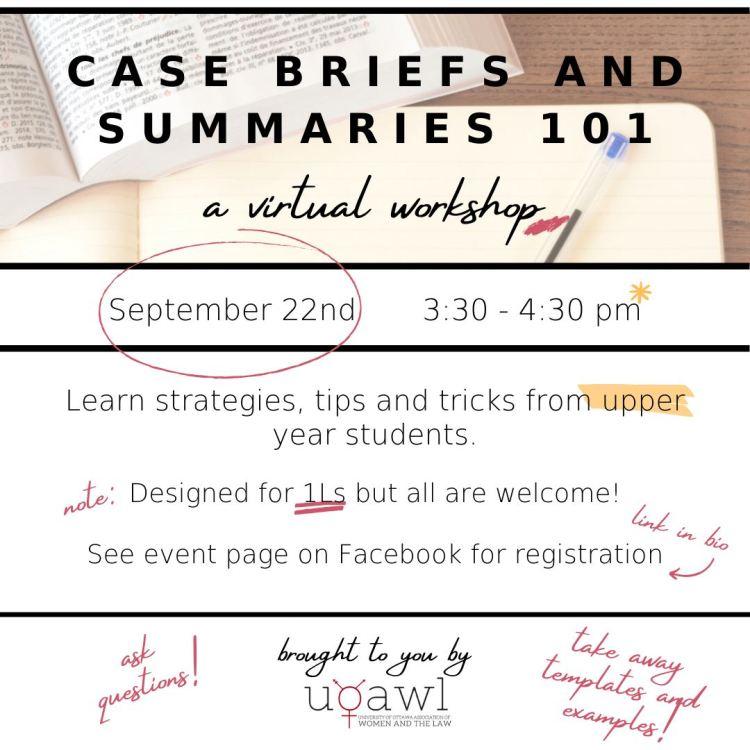 Case Briefs and Summaries 101