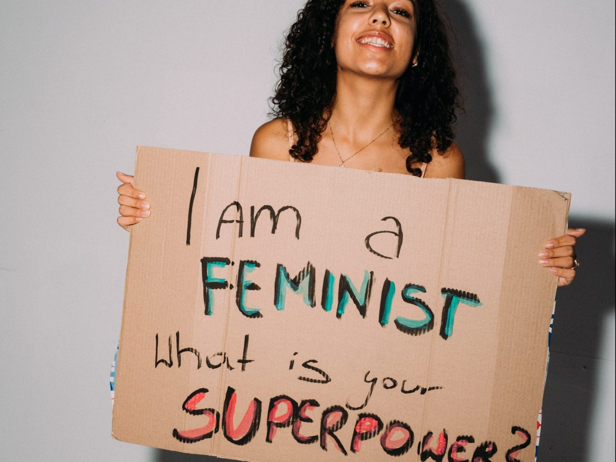 I'm a feminist what is your super power?
